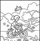 Coloring Pages Sprinkler Spring Template sketch template