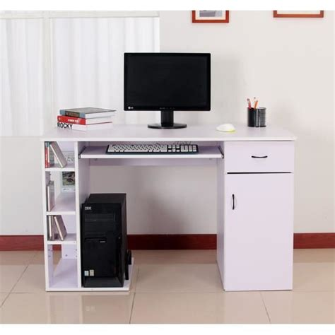 bureau pc meuble meuble table pc table de lit
