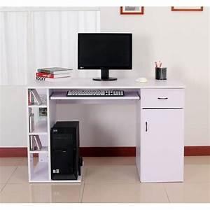 Meuble Ordinateur Salon : bureau pour ordinateur table meuble pc informatique multimedia mauve clair 12 achat vente ~ Medecine-chirurgie-esthetiques.com Avis de Voitures
