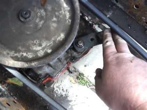 craftsman  shifter linkage setup youtube