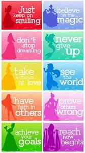 Snow White, Cinderella, Aurora, Ariel, Belle, Jasmine ...
