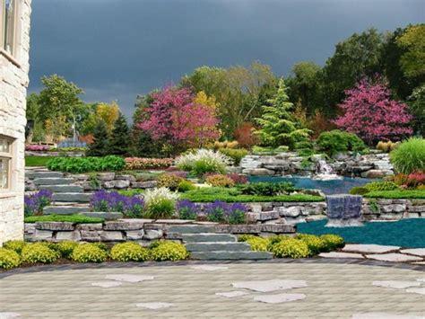 Decoration Jardin Avec Pierres D 233 Coration De Jardin En En 35 Id 233 Es Sympas