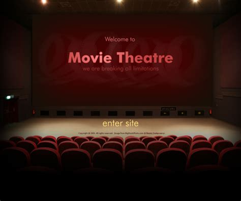 theater sign powerpoint