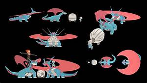 Size comparison through evolutions #15: Bagon : pokemon