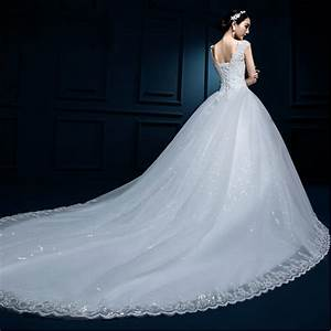 2017 cheap white red lace wedding dress long train robe de With robe sirene mariee