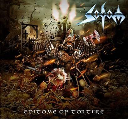 Sodom Epitome Album Torture Metal Artwork Cd