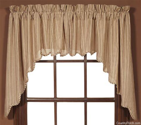 window curtain swags