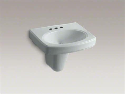 Kohler Pinoir(r) Wall-mount Bathroom Sink With 4