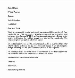 landlord reference letter template 8 download free With reference letter from landlord template