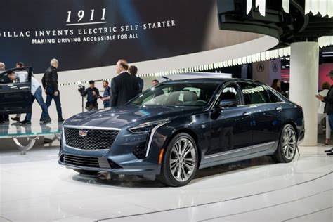 2019 Cadillac Ct6 Vsport Debuts With Beefy V8 Engine