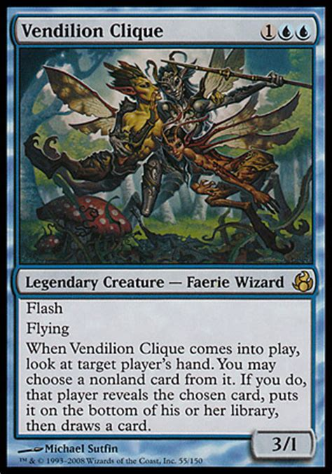 Faerie Deck Mtg 2015 by Commanding Opinion Azami Of Scrolls 187 Brainstorm