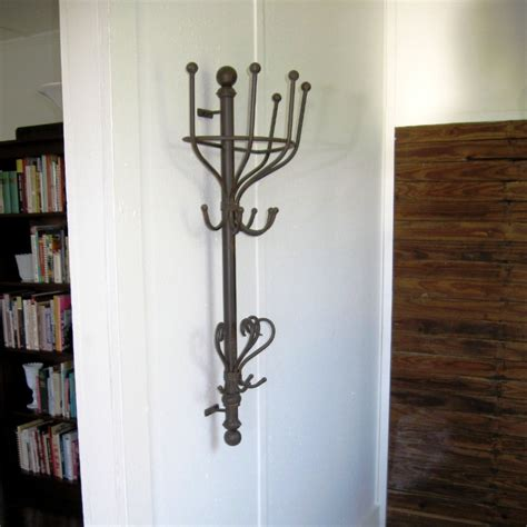 Decorative Metal Garment Floor Rack by Decorative Wall Hooks Wrought Iron Coat Hooks Wall