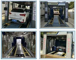 Automatic Tunnel Car Washing Machine   Automated Car Washer