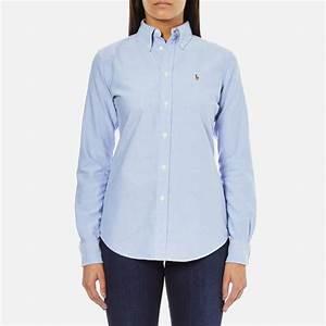 Polo Ralph Lauren Women's Harper Shirt - Blue - Free UK ...