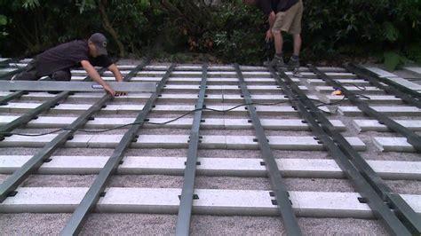 aufbau wpc terrasse montagevideo einer megawood terrasse made by s hamburg