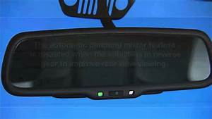 2014 Jeep Wrangler Automatic Dimming Mirrors