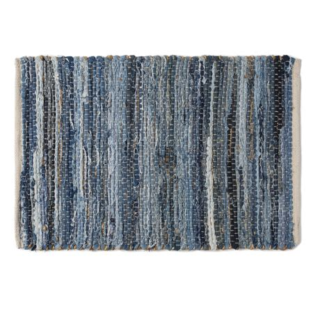 Rag Rugs Walmart by Denim Hemp Chindi Rag Rug Rect 20x30 Walmart