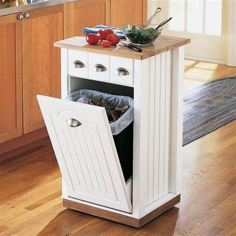 kitchen island trash bin build a kitchen island with trash storage diy projects