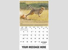 International Wildlife Business Promo Calendar 65