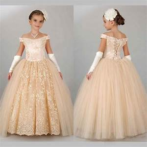 vintage champagne pageant dresses for girls 2016 off With girls dresses for weddings