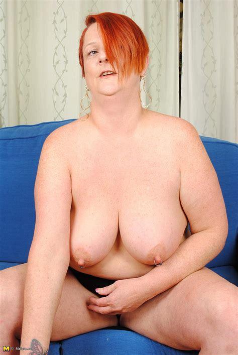 Chubby Redhead Milf Fucks With A Banana Photos Ilona