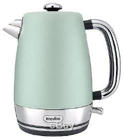 Green Kettle And Toaster Set - daewoo retro microwave breville strata kettle and