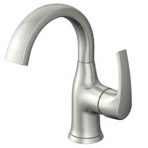 no water in kitchen faucet shop lyndsay brushed nickel 1 handle single watersense bathroom faucet drain