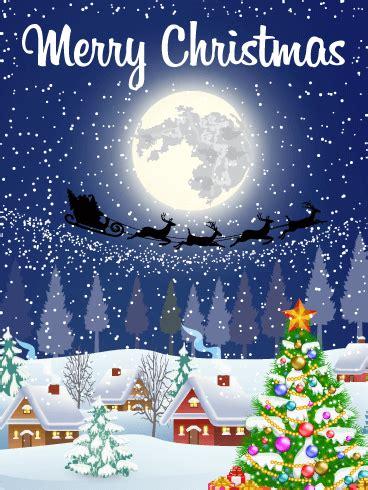 silent night holy night merry christmas card birthday