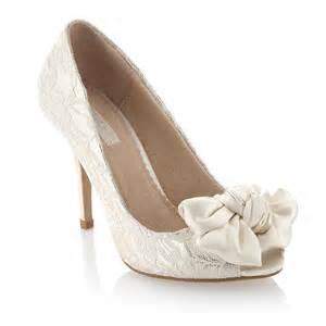 wedding shoes ivory wedding shoes ivory lace peep toe heels eawedding