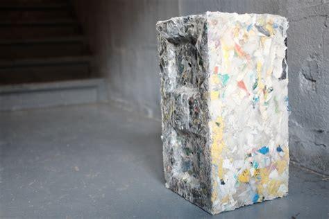 building blocks   waste plastic ecobuilding pulse