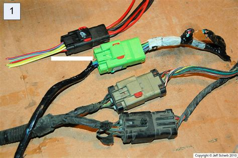 Hardtop Wiring Converting Plugs Match Different Years