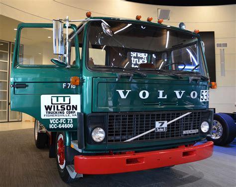 volvo built   river valley returned truck news