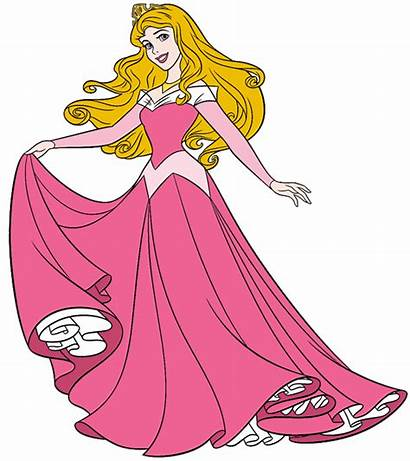 Princess Clipart Aurora Sleeping Prince Beauty Disney