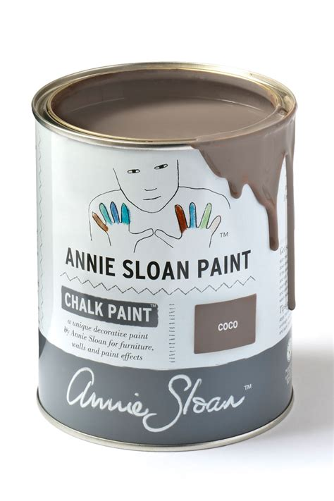coco chalk paint by sloan 1 litre pot dovetails