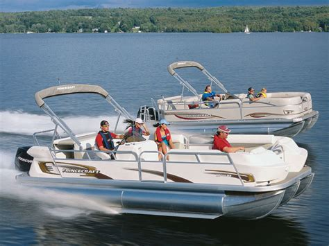 Princecraft Deck Boat Craigslist by Princecraft Pontoon Boats For Sale