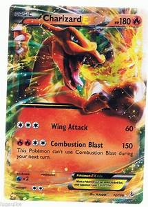 Pokemon Card XY Flashfire Rare Holo Charizard EX 12/106 ...