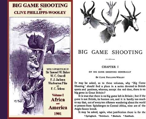 Cornell Publications Big Game Shooting  Africa And