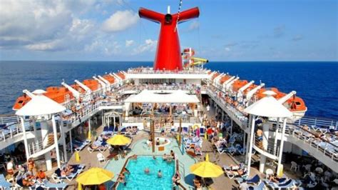 carnival elation pool deck cruise from jacksonville t