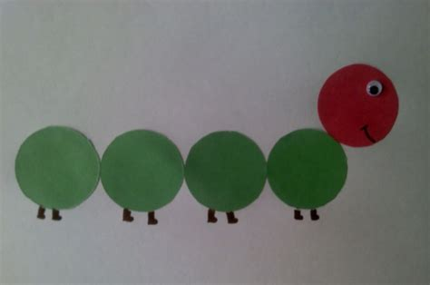 hungry caterpillar daycare crafts preschool