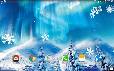 Animated Snowfall Wallpapers Free - snowfall live wallpaper android apps on play