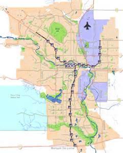 Calgary C-Train Map