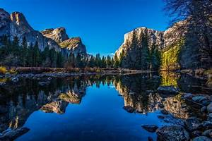 River, Yosemite, National, Park, Nature, Landscape