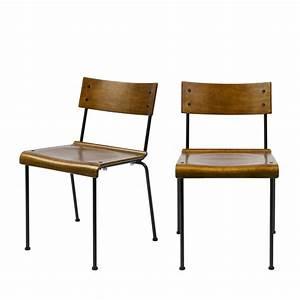 Chaise Bois Design : chaise design colier x2 bois teach by drawer ~ Teatrodelosmanantiales.com Idées de Décoration