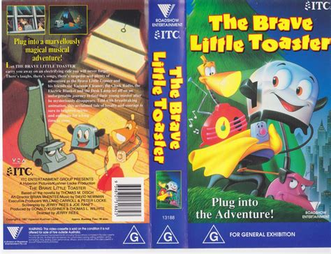 The Brave Little Toaster Vhs Video Pal~ A Rare Find