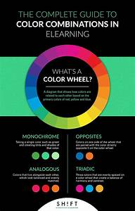 The Complete Guide To Color Combinations In Elearning