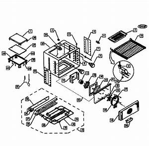 Oven Assy Diagram  U0026 Parts List For Model Wos130ssph70085