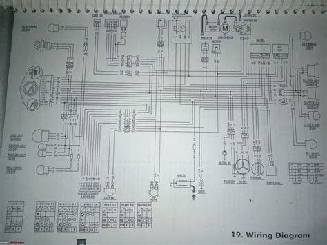 wiring diagrams of two wheelers page 2 team bhp