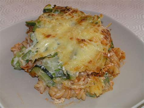 cuisiner avec du mascarpone gratin de courgettes aux pâtes et à la mascarpone
