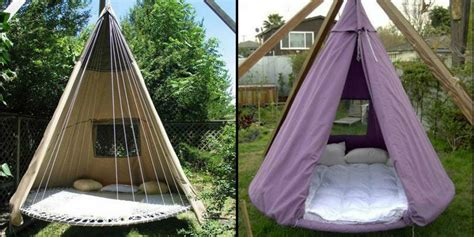 diy trampoline bed swing   upcycle  trampoline