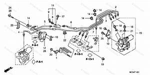 Honda Motorcycle 2004 Oem Parts Diagram For Proportioning Control Valve  St1300a